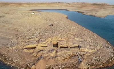 latest-news-ancient-3400-year-old-palace-revealed-after-drought-dries-up-iraq-reservoir