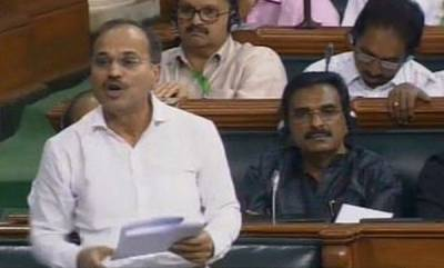 india-congress-gives-adjournment-motion-notice-in-ls-over-ktaka-crisis