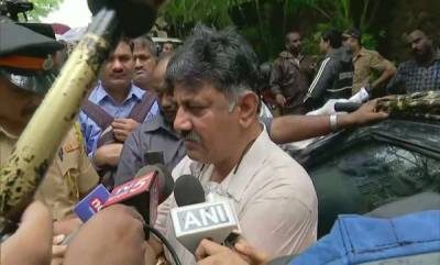 latest-news-karnataka-minister-dk-shivakumar-on-renaissance-mumbai-convention-centre-hote
