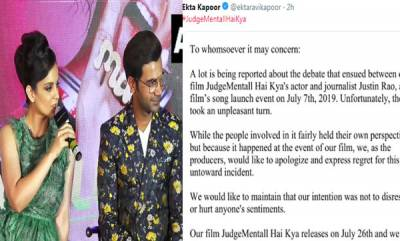 entertainment-balaji-telefilms-apologises-for-kanganas-spat-with-scribe