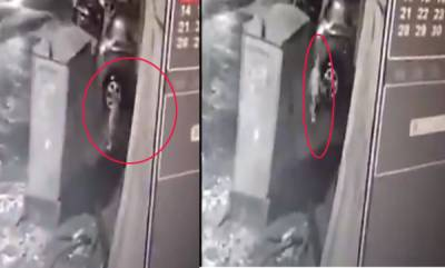 india-3-year-old-slips-into-drain-as-he-walks-alone-at-night-caught-on-cctv