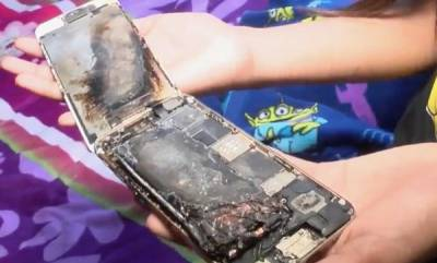 tech-news-11-year-old-girls-iphone-6-explodes-sparks-in-her-hand