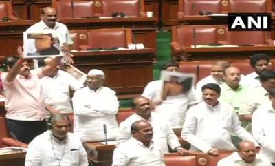 latest-news-karnataka-assembly-adjourned-till-friday