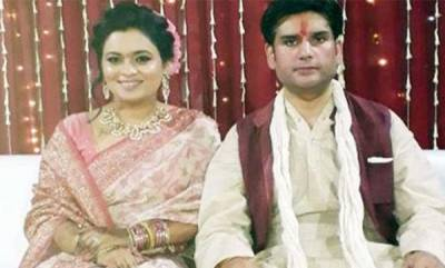 latest-news-nd-tiwaris-sons-murder-cops-charge-wife-of-murdering-rohit-tiwari
