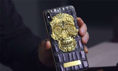 mobile-luxurious-iphone-with-18k-gold-skull-alligator