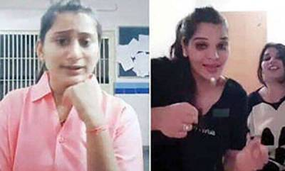 latest-news-gujarat-acp-who-had-suspended-constable-herself-appears-in-tiktok-video