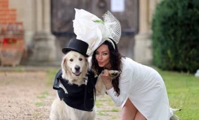 odd-news-lonely-model-gives-up-on-dating-marries-her-golden-retriever