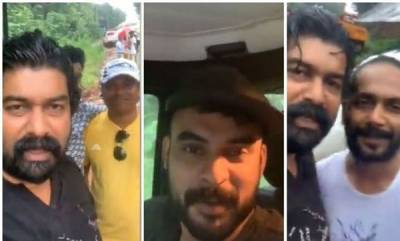 latest-news-tovino-joju-gave-relief-help-to-flood-affected-area