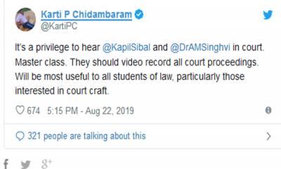 latest-news-karti-chidambaram-says-kapil-sibal-and-abhishek-manu-singhvis-arguements-a-masterclass