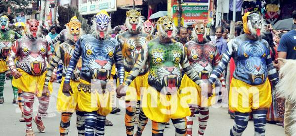 From the 'Colourful Attachamaya Gala' at Thripunithara,  Photo By :- PR Rajesh