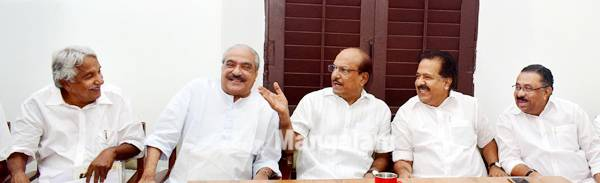 UDF meeting at Contement House