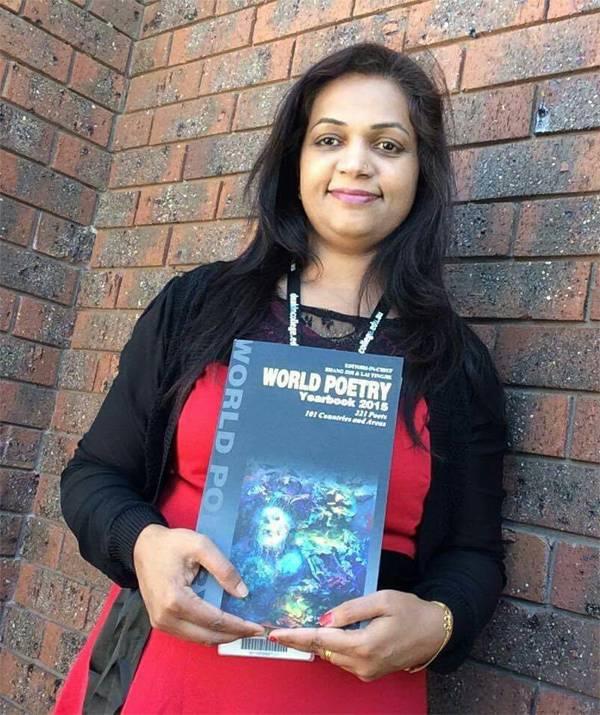 Deepa Chandran Ram, World Poetry Year Book