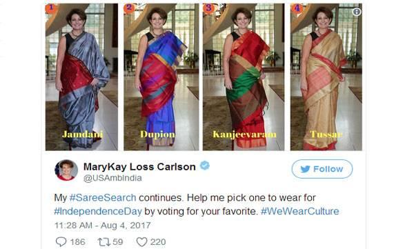 #SareeSearch