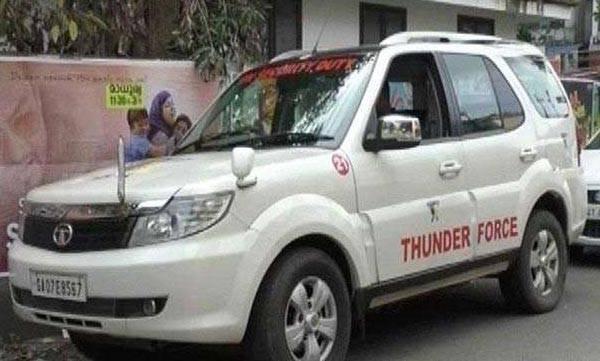 Baiju Kottarakkara, Thuder force