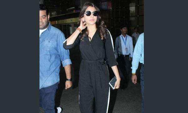 Anushka Sharma,  Mumbai Airport