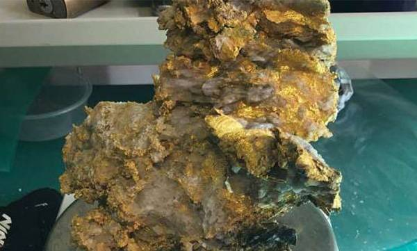 Mother lode of gold at Australian mine
