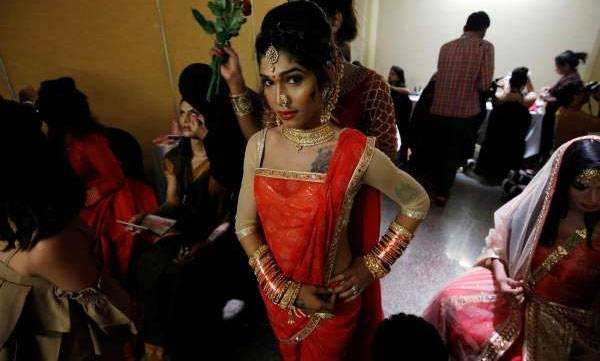 Veena Sendre,  India's first 'Miss Trans Queen'