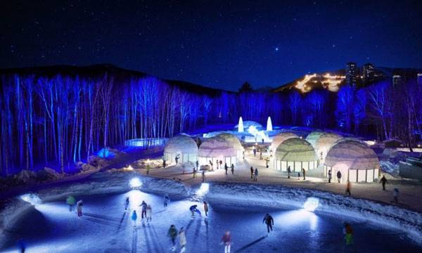 Ice Resort, Japan