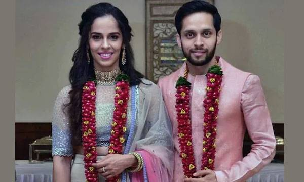 Saina Nehwal, Parupalli Kashyap, Wedding