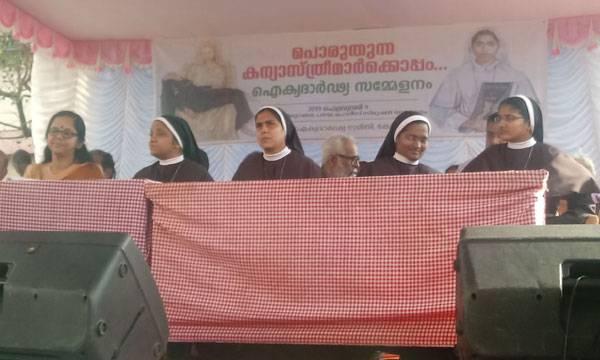 Protest,  Nuns