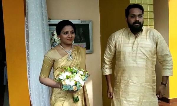 Director Arun Gopi, Wedding