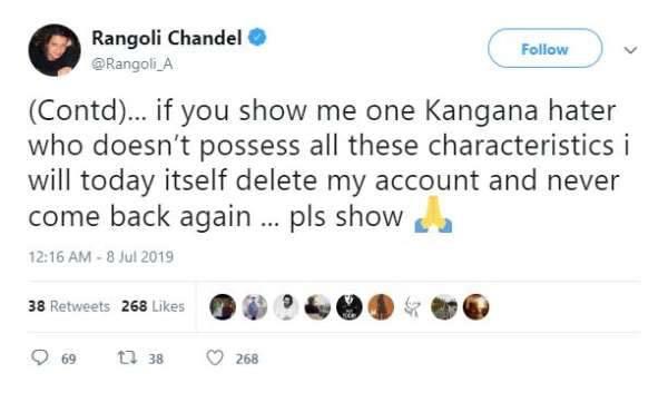 Rangoli chandel, Kangana ranaut, Narendra modi