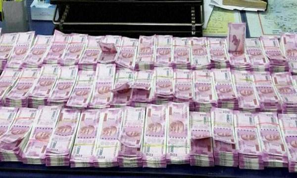 Over 120 crores seized in IT raids!