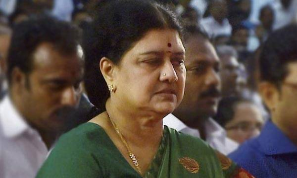Election Commission, Sasikala Natarajan