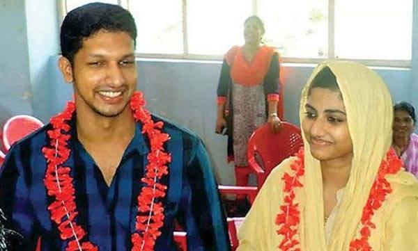 religious conversion , love marriage, gautham, anshida