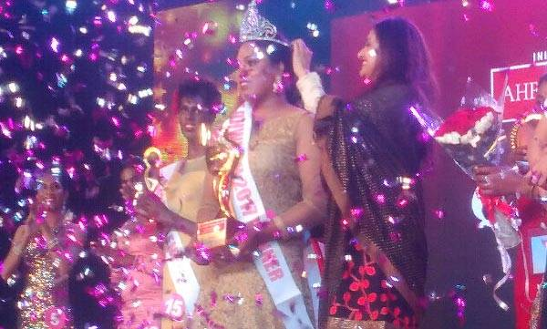 Transgender beauty queen  , Shyama