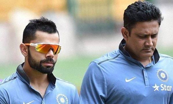 Virat Kohli ,  Anil Kumble ,  team India