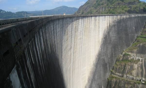 Idukki Dam,White colour, Maintenance