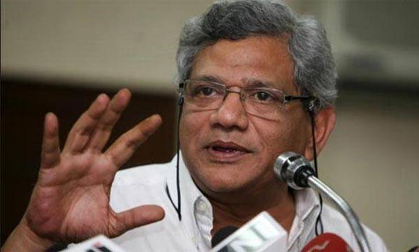 india-central-committee-disagrees-yechurys-third-term-in-rs