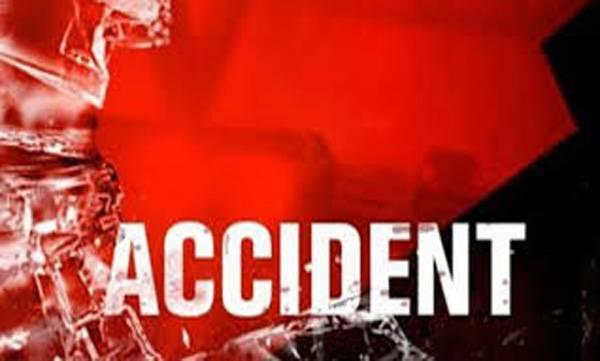 School van, Accident, Five injured