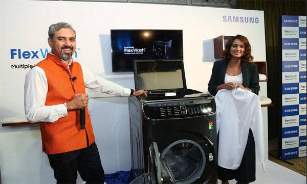 Samsung Launches Versatile All-In-One Laundry System, FlexWashTM with Two Washers and One Dryer
