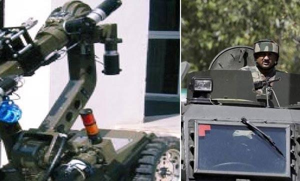 Robots , terrorist attack