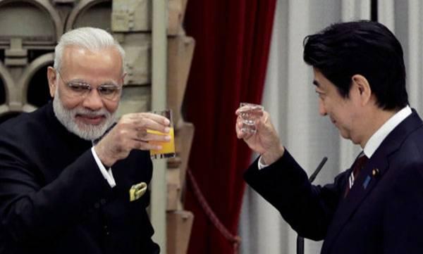 Shinzo Abe, Gujarat visit
