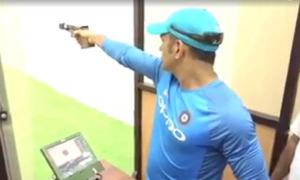 sports-news-ms-dhoni-shows-what-he-can-do-with-a-gun-in-hand