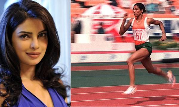 Priyanka Chopra,  PT Usha, Biopic