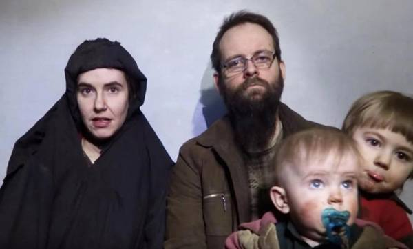 Pakistan,  US-Canadian family, Kidnapped