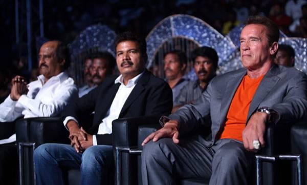 Director Shankar, Arnold Schwarzenegger