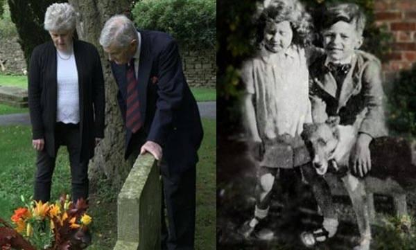 Mystery Cheltenham, Grave visitor