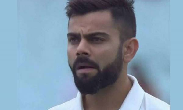 sports-news-virat-kohli-chews-gum-during-national-anthem-before-india-sri-lanka-1st-test