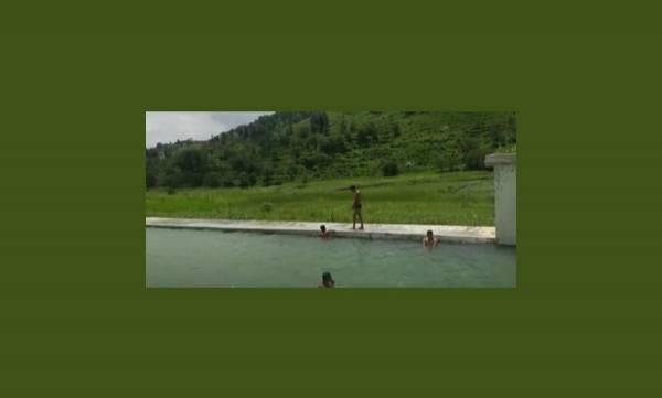 Devdhar Singh,  Swimming Pool