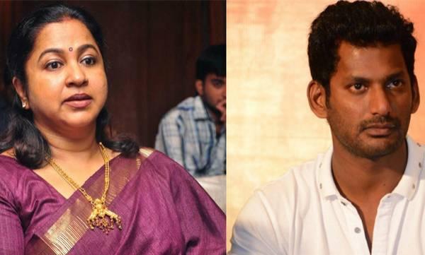 Vishal, Radhika Sarathkumar