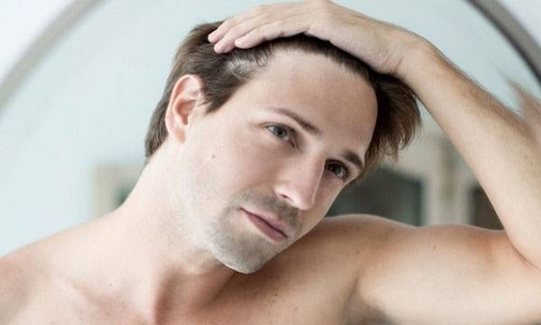 Male-pattern baldness,  Premature graying, Heart disease