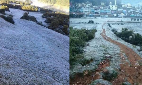 Snowfall,  Ooty