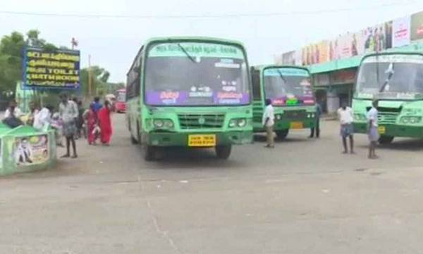 Tamil Nadu, bus strike