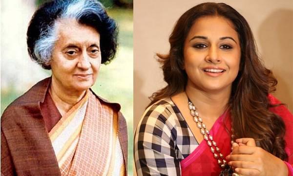 Vidhya Balalan, Indira Gandhi