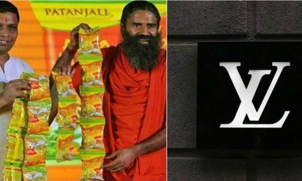 French luxury brand,  Patanjali